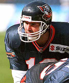 637cf1bae ... Amsterdam Admirals in the spring of 1998 before debuting for the Rams  in the fall of that same year. Brad Johnson, the winning quarterback for  the Tampa ...