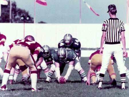 Il derby romano del 1981 tra Gladiatori e Lupi