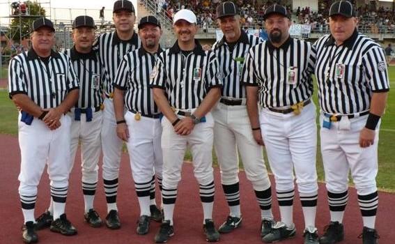 Gli arbitri AIAFA dell'Italian Superbowl