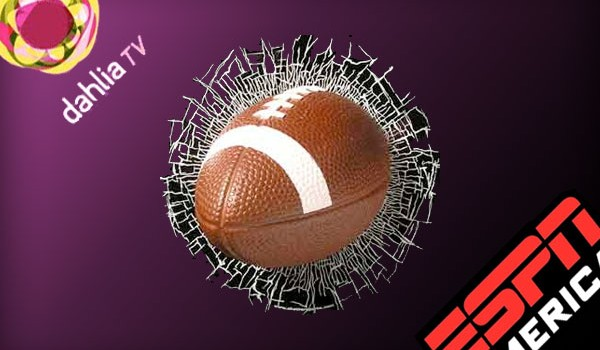 Dahlia Tv e ESPN pronte per la NFL