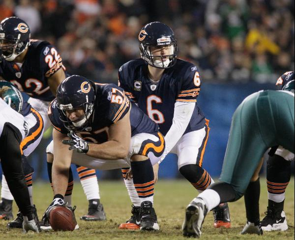 Jay Cutler, quarterback dei Chicago Bears