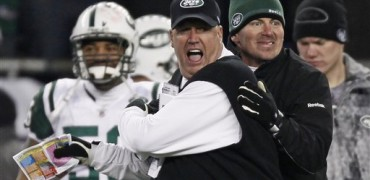 Rex Ryan vs Patriots, divisional 2011