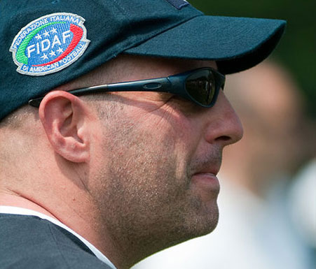 Gianluca Leone, coach dell'Under 19 (foto Busi)