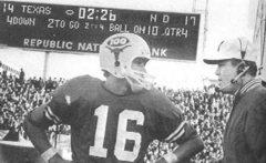Cotton Bowl 1970. Texas vs. Notre Dame (foto Sporting News)