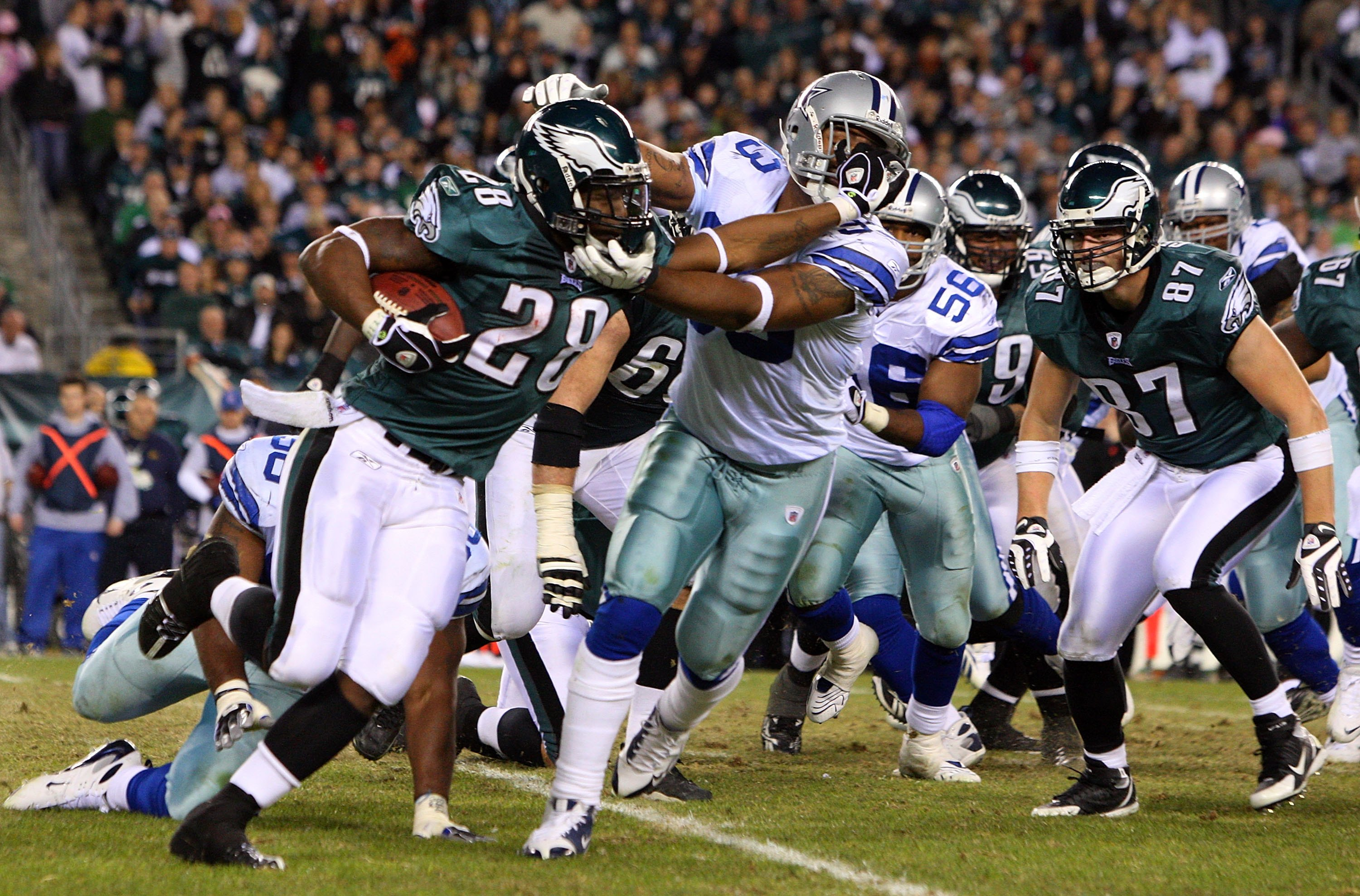 Dallas Cowboys@Philadelphia Eagles (2008)