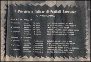 Il calendario ufficiale del campionato (Corriere dello Sport/STADIO 17.7.1980)
