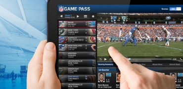 NFL Game Pass su iPad