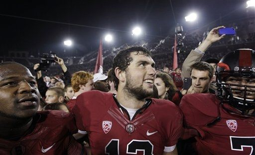 Luck last game Stanford