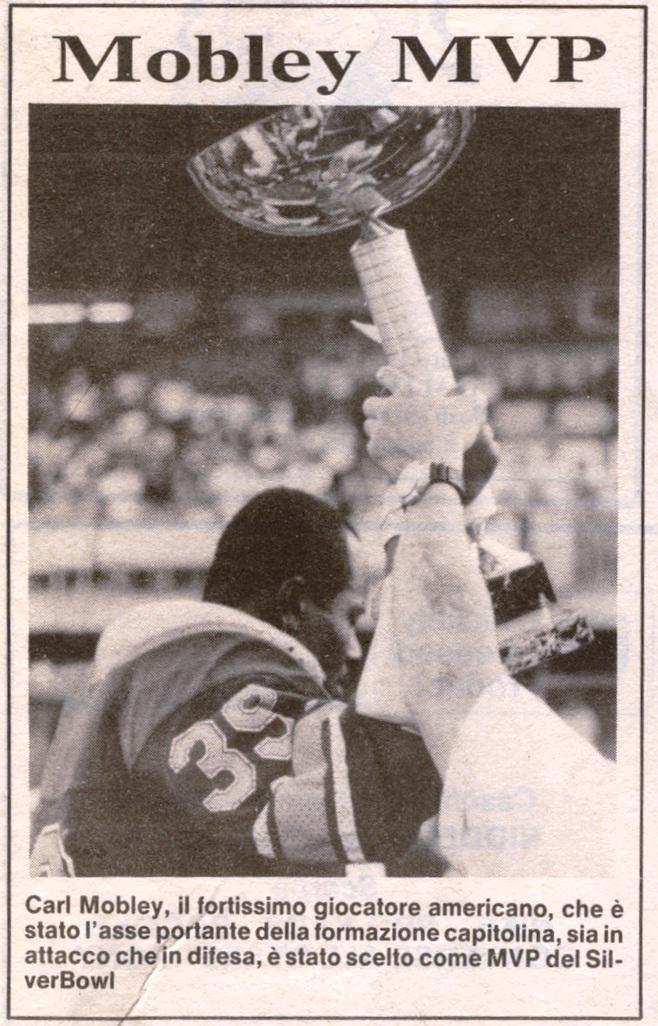 Mobley MVP del Silverbowl