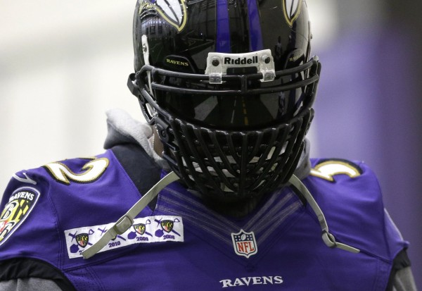 Ray Lewis new facemask