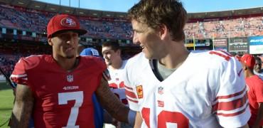 Colin-Kaepernick-and-Eli-Manning