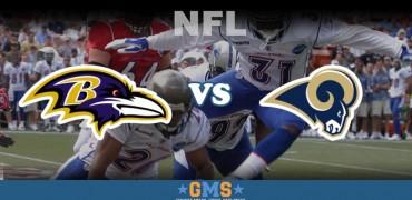Baltimore RavensvsSt. Louis Rams