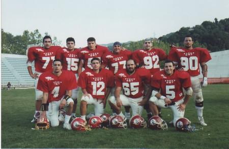 Foto ricordo per i Gladiatori convocati all'All-Star Game del 1992