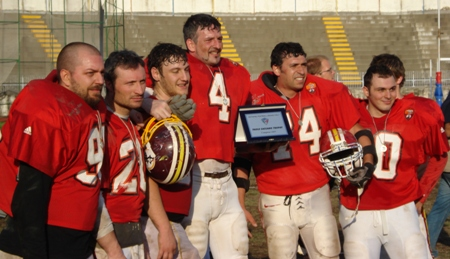 I Gladiatori con il Paolo Caccamo Trophy