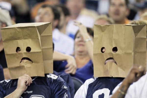 I tifosi di Dallas