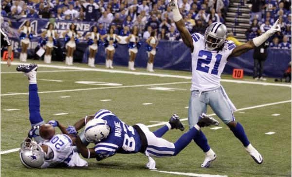 I Colts sconfitti a Dallas