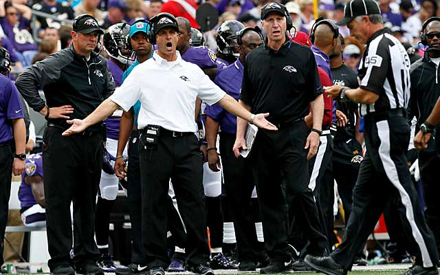 John Harbaugh Disappointed